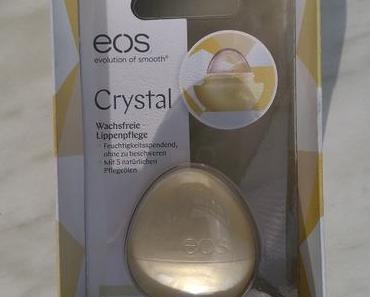 [Werbung] eos Crystal Wachsfreie Lippenpflege Vanilla