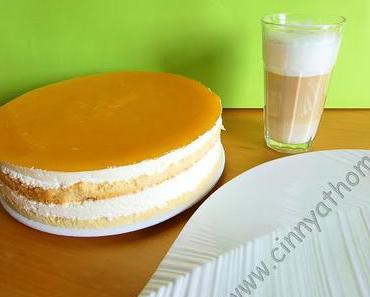 Die fruchtige Torte die an ein Solero Eis erinnert #Rezept #Food #Geburtstag