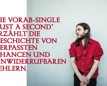 """Videopremiere: Bled White kündigt mit dem Video zu """"Just A Second"""" sein Debütalbum an"""