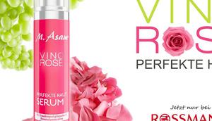 ASAM neue Linie VINO ROSE exklusiv ROSSMANN