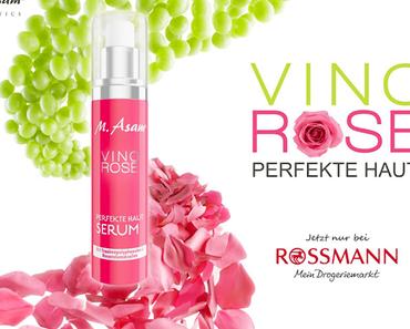 M. ASAM - neue Linie VINO ROSE exklusiv bei ROSSMANN