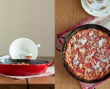 Erdbeer Clafoutis – Auf in die g'schmackige Zeit