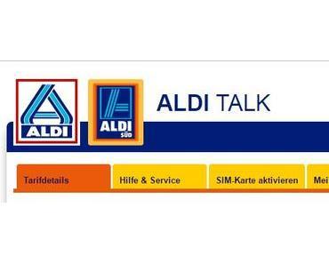 Aldi-Talk jetzt mit Telefon- und SMS-Flatrate