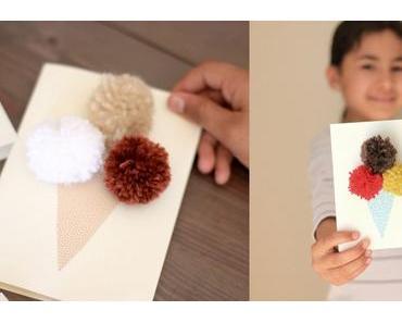 Diy Kindergeburtstag Einladungskarten Eis