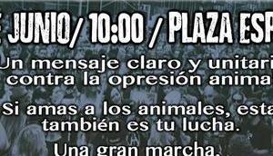 Marcha derechos animales