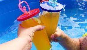jeder Zeit eigenen Pool Poolsana entspannen #FramePool #Sommer #Abkühlung