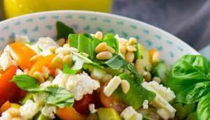 Avocado Feta Salat Rucola