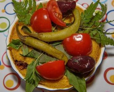 Bunte Polenta (vegan)