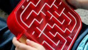 Spiele- Klassiker perfekt Reise BRIO Labyrinth Mitnehmen