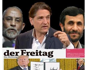 """Jakob Augstein, sein """"Freitag""""  und die """"zionistischen Schlächter"""""""