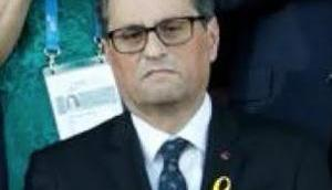 Nicht TV3: Eindeutiger Empfang CAT-SEP-Autonomiepräsidentenmarionettenfarce Quim Torra Tarragona, Cataluña!