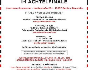 Whats On: Achtelfinale mit Kunst und Musik