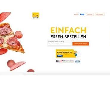 Pizza.de App: Preisnachlass auf die erste Bestellung