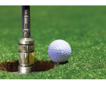 Golfen und Dampfen