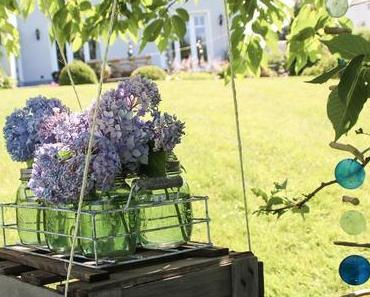 DIY Hängetisch oder Blumenschaukel