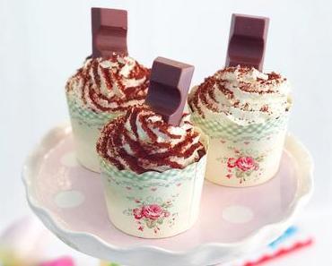 Rezept für blitzschnelle Kinderriegel Cupcakes