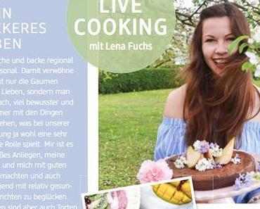 LIVE COOKING mit dmBIO! Wie wir im Team, die Foodtruckküche rockten & mit Quinoa-Glückstalern viele Gesichter zum Strahlen bringen…