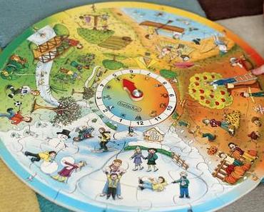 Entdecken, Spielen & Lernen : Das Beleduc XXL Jahreszeitenpuzzle