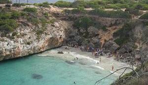 Qualleninvasion idyllischem Mallorca-Strand