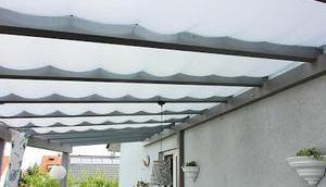 Sonnensegel Balkonbeschattung Teil