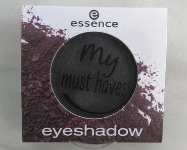 [Werbung] essence my must haves eyeshadow 18 black as a berry