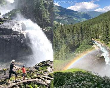 Familienausflug: Krimmler Wasserfälle