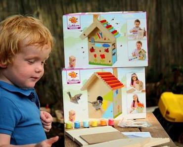 Ein neues Zuhause für Käfer & Vögel: DIY - Bausätze für Kids von Eichhorn // Gewinnspiel