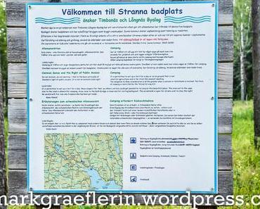 Sommer in Schweden: Eine Bootstour und jedem Tag ein erfrischendes Bad im See