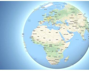 Google Maps zeigt die Erde jetzt als Kugel