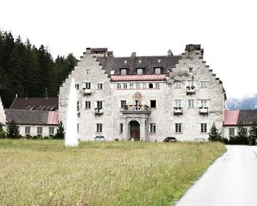 Das Kranzbach in Krün bei Garmisch-Partenkirchen