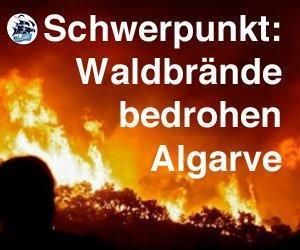Algarve-Feuer immer noch nicht aus