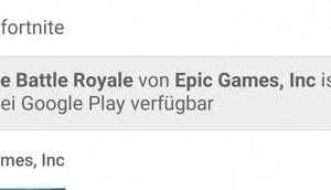 Google warnt Play Store Fortnite-Fakes