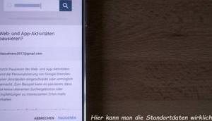 Google Sammeln Standortdaten abgewöhnen