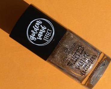 [Werbung] essence wanted: sunset dreamers top coat 01 golden sand (LE) + Lipgloss Inventur 2018 :)