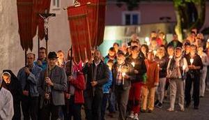 Lichterprozession Mariazell Maria Himmelfahrt 2018