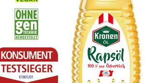 [Review] Kronenöl bestes Rapsöl Österreich: