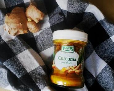 Milchreis mit Kurkuma [vegan]