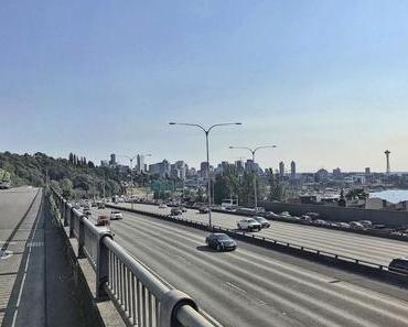 Radfahren in Seattle, USA