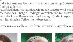 Wahrnehmen Elementarwesen Susanne Gundermann u.a. August 2018 Hannover, Querverweis