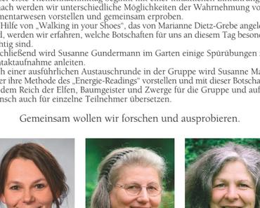 Wahrnehmen der Elementarwesen - Susanne Gundermann u.a. August 2018 Hannover, ein Querverweis