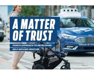 """A Matter of Trust"": Ford über autonomes Fahren"
