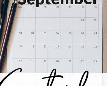 Freebie Kalender zum ausdrucken September 2018
