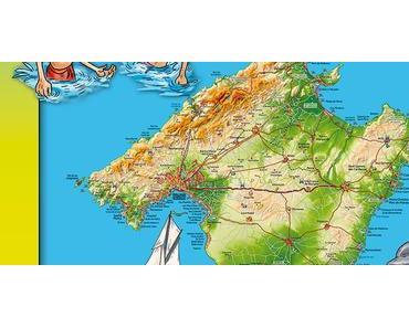 Mallorca Die Entdecker-Karte für Kids 2018