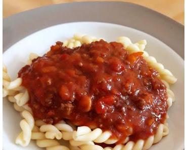 Bolognese Sauce mit Paprika (à la Christian)