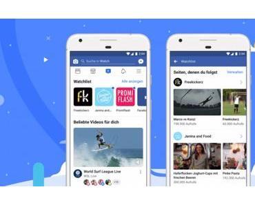 Facebook greift Googles YouTube mit Watch an
