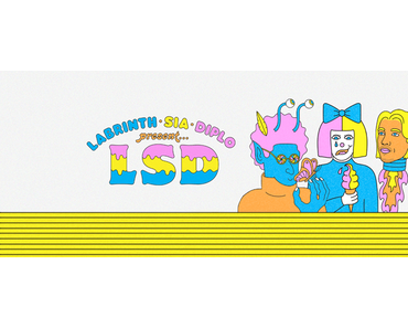 Videopremiere: Labrinth, Sia & Diplo present LSD – Thunderclouds