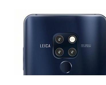 Huawei Mate 20 (Pro): Neuer Leak zeigt die Frontseite mit kleiner und breiter Notch