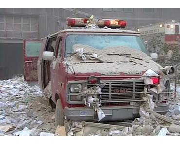 Aufgefrischte Aufnahmen vom 9/11 Attentat in New York
