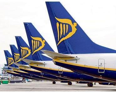 Ryanair-Streik am morgigen Mittwoch