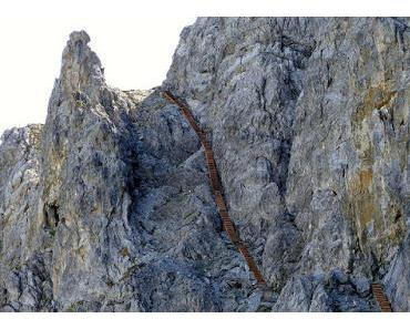 Trippeln statt klettern